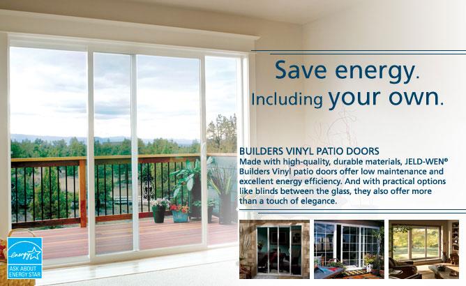 builders vinyl jeld wen doors windows. Black Bedroom Furniture Sets. Home Design Ideas