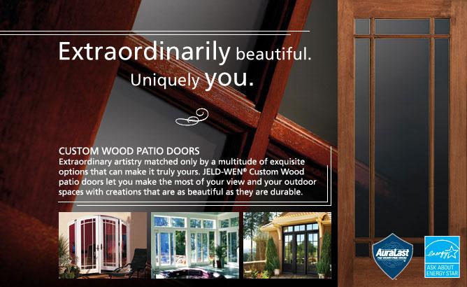 Custom Wood Jeld Wen Windows Amp Doors