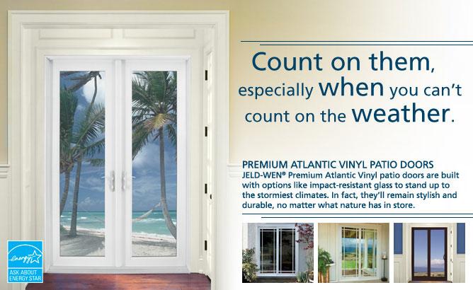 Premium Atlantic Vinyl Jeld Wen Windows Amp Doors