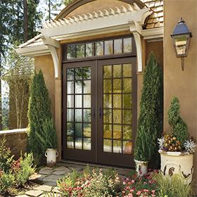 W 4500 Clad Wood. Wood Patio Doors ...