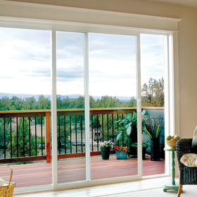 Patio doors jeld wen windows doors for Double wide patio doors