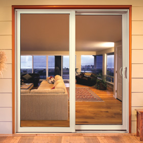 Patio doors jeld wen windows doors for 6 foot sliding glass door